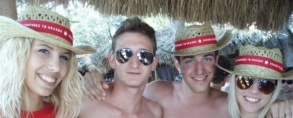 Nothing compares to Havana - summer tour 2012. (Beach bar Kalypso, Zrće)